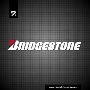 Bridgestone Tyres Logo Sticker