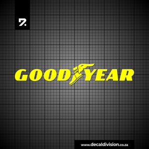 Good Year Tyres Logo Sticker