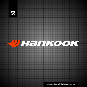 Hankook Tyres Logo Sticker