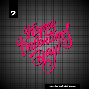 Happy Valentine's Day Sticker A
