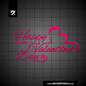 Happy Valentine's Day Sticker B