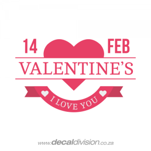 Valentine's Day 14 Feb Sticker