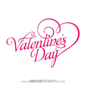 Valentine's Day Sticker A