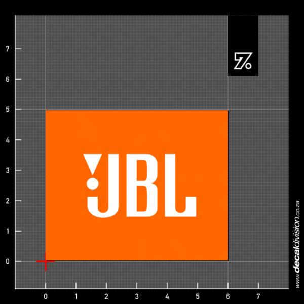 Jbl logo sticker
