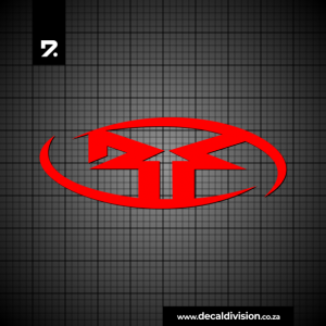 Rockford Fosgate Logo Sticker