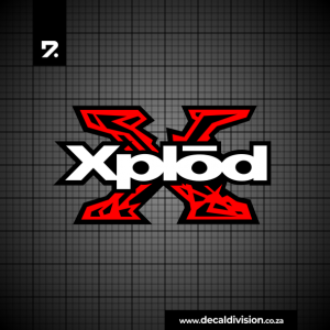 Sony Xplod Logo Sticker