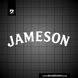 Jameson Whiskey Logo Sticker
