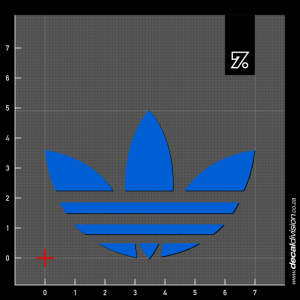 Adidas Leaf Sticker