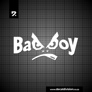 Bad Boy Logo Sticker