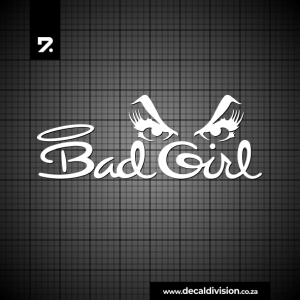 Bad Girl Eyes Sticker