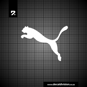 Puma Logo Sticker