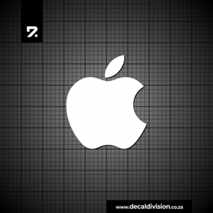 Apple Macintosh Logo Sticker