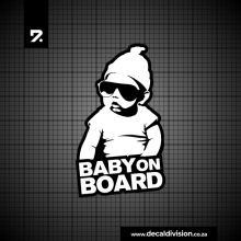 Baby on Board Sticker - Carlos