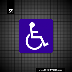 Disabled Sticker