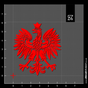 Eagle of Poland Sticker