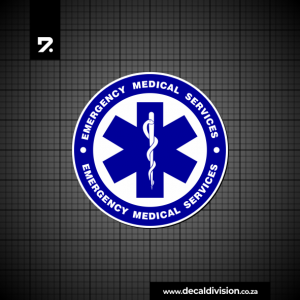 Emergency Medical Services Sticker