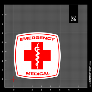 Emergency Medical Sticker