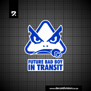 Future BADBOY in transit sticker