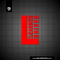 Learner Driver Sticker A