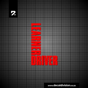 Learner Driver Sticker B
