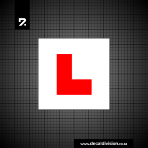 Learner Driver Sticker E