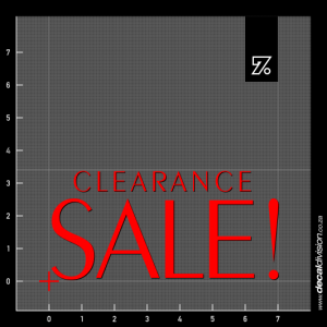Clearance Sale Text Sticker - Exotic