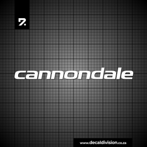 Cannondale Bikes Logo Sticker