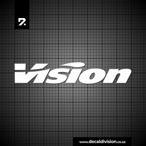 Vision Tech Logo Sticker