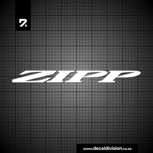Zipp Wheels Logo Sticker