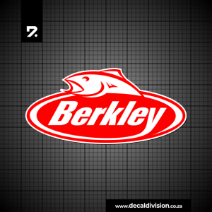 Berkley Logo Sticker