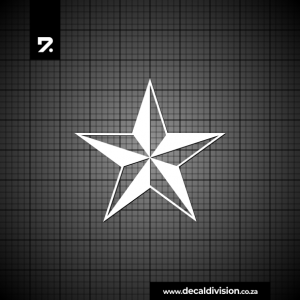 Nautical Star Sticker