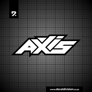 Axis Logo Sticker