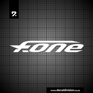 F-One Logo Sticker