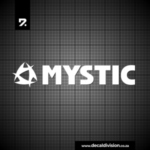Mystic Logo Sticker