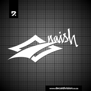 Naish Logo Sticker