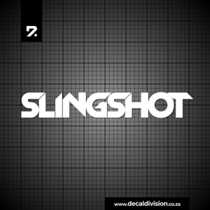 Slingshot Logo Sticker
