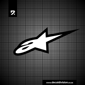 Alpinestars Logo Sticker