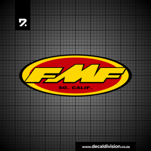FMF Exhaust Pipe Logo Sticker