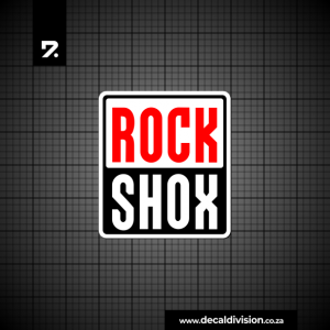 Rock Shox Logo Sticker