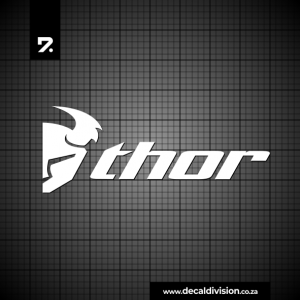 Thor Logo Sticker