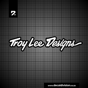 Troy Lee Designs Logo Sticker