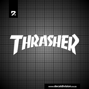 Thrasher Logo Sticker