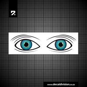 Shark Deterrent Eyes Sticker