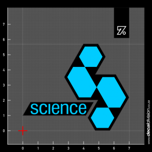Science Bodyboards Logo Sticker
