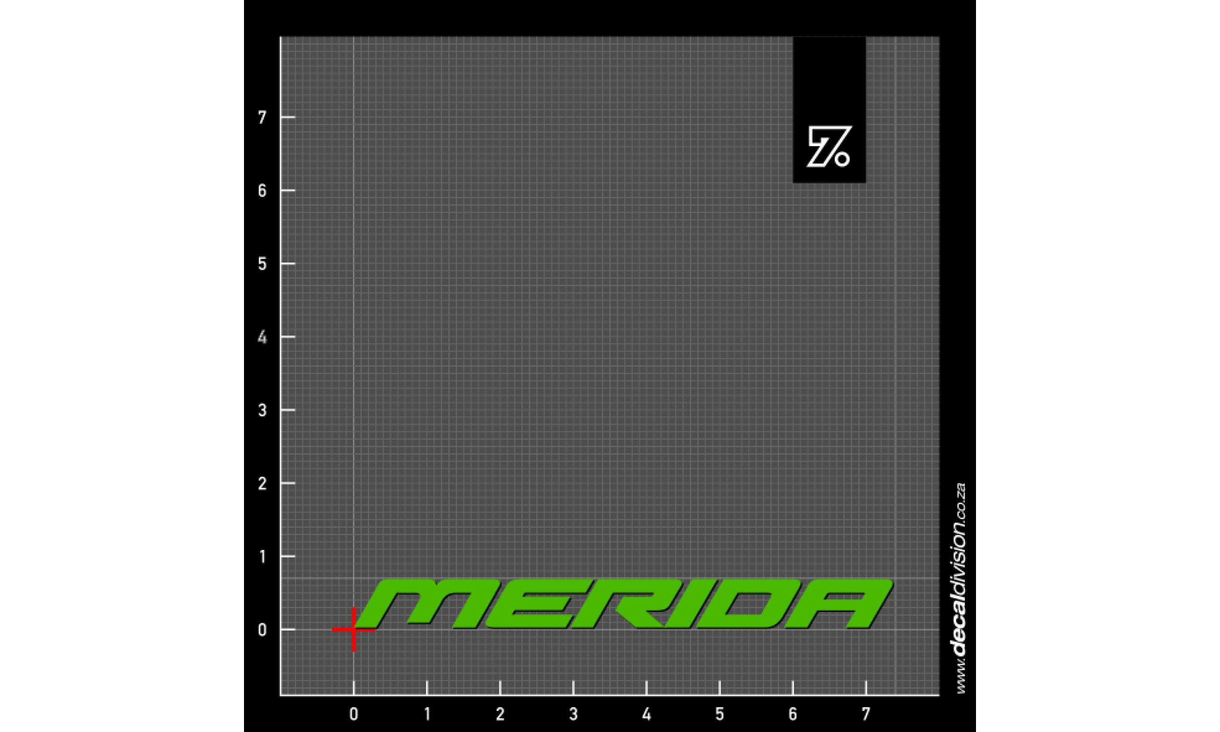 Merida Bikes Logo Sticker