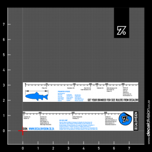 Fish Size Restriction Ruler