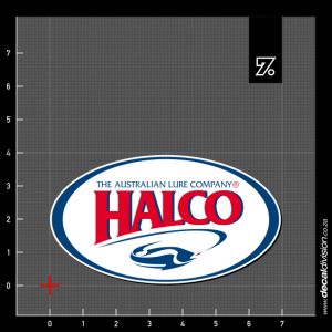 Halco Fishing Lures Sticker
