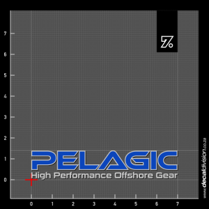 Pelagic Logo lettering Sticker