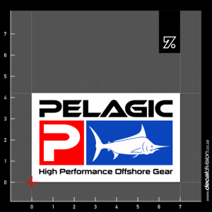 Pelagic Logo Sticker