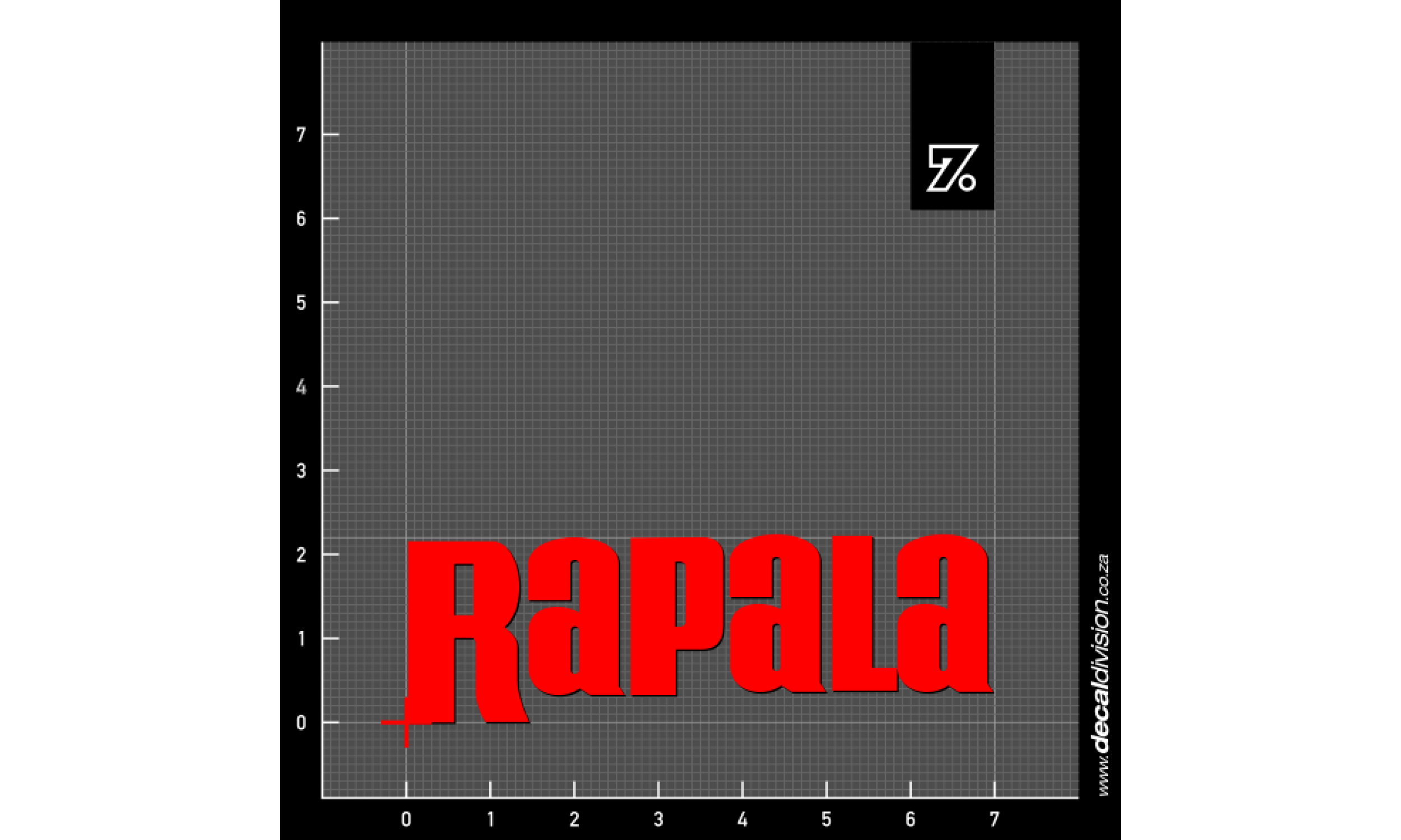 Rapala Fishing Lure Logo Sticker